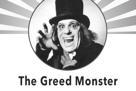 Home Buyer Tips 101: Avoid the Greed Monster Infographic
