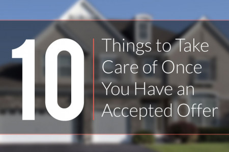 Home Buying Checklist: What Happens After Your Offer is Accepted? Infographic