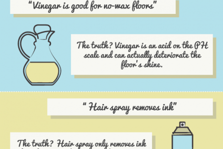 Home Cleaning : Myths vs Facts Infographic