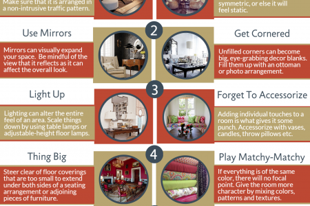 Home Decorating Do's and Dont's  Infographic
