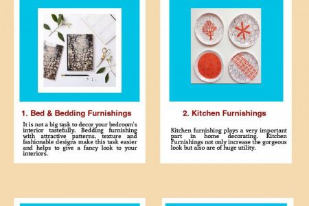 Home Furnishing Idea for the Modern Home Infographic