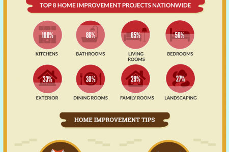 Home Improvement Trends in the US Infographic