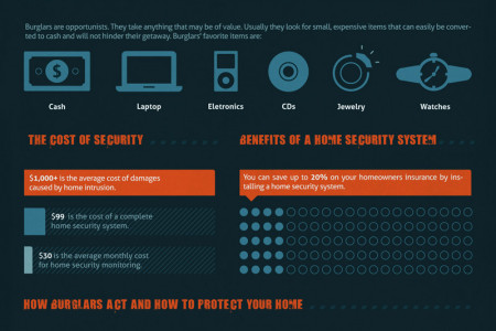 Home Invasion and Home Burglary Statistics Infographic