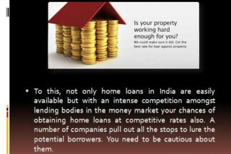 Home Loans in India - Make Your Dream Come True Infographic