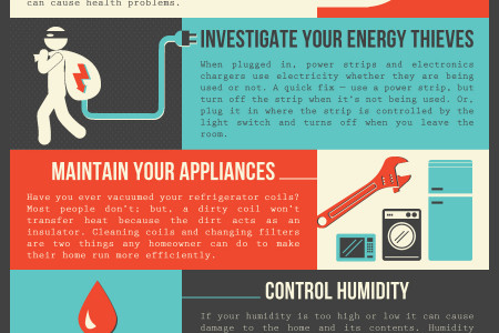Home Maintenance Tips Infographic