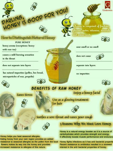 Honey Is Good For You Infographic