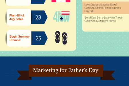 Honoring Dads with Email Marketing Infographic