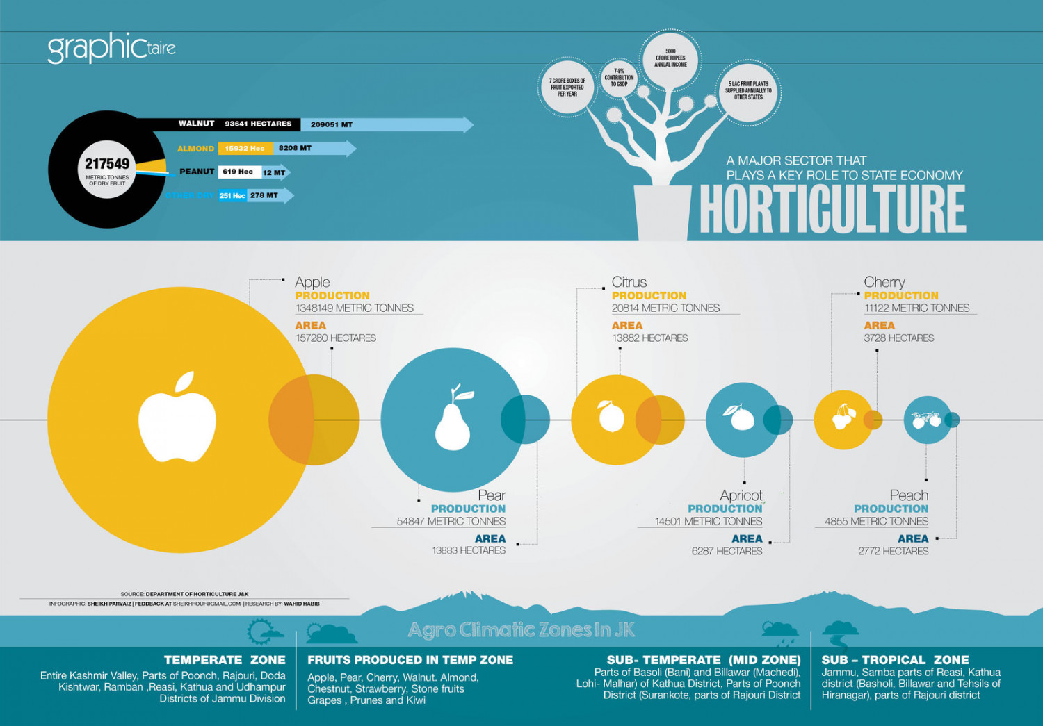 Horticulture Infographic Infographic