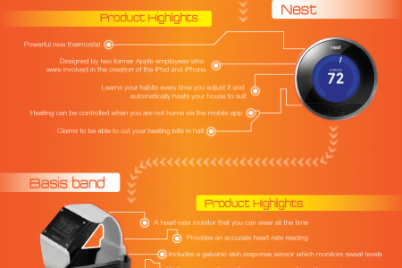 Hot Technology Gadgets of 2013 Infographic