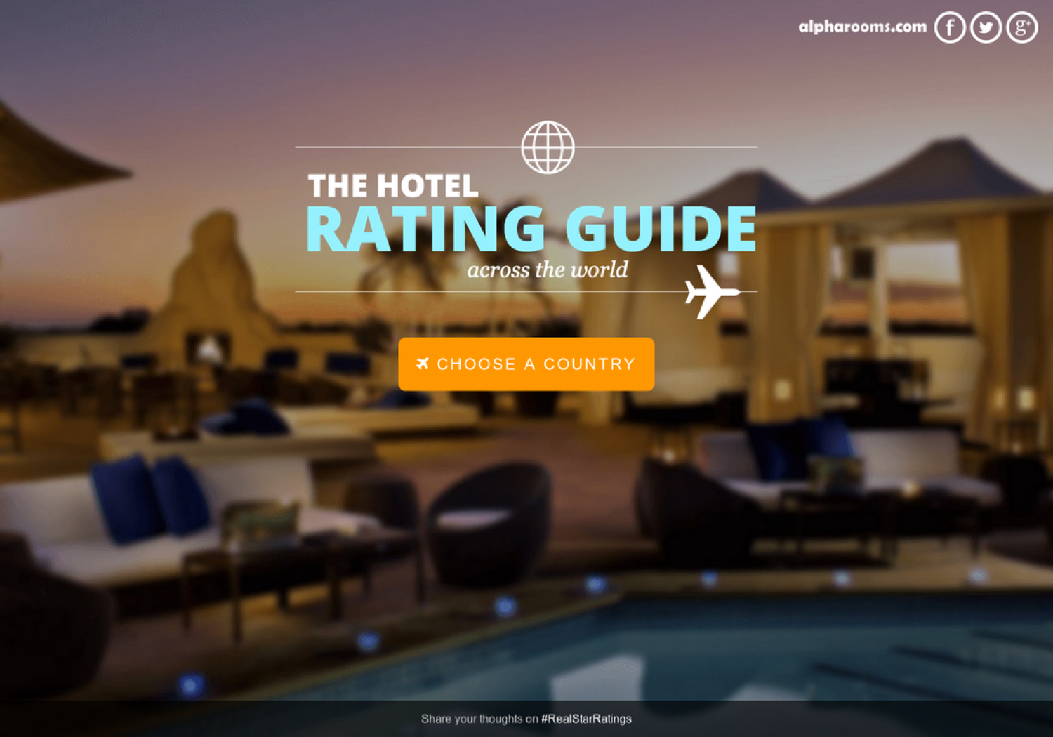 Hotel Star Ratings Guide Infographic