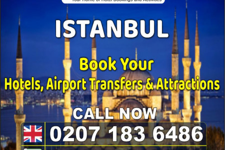 Hotels in Istanbul - Holidays Masters Infographic
