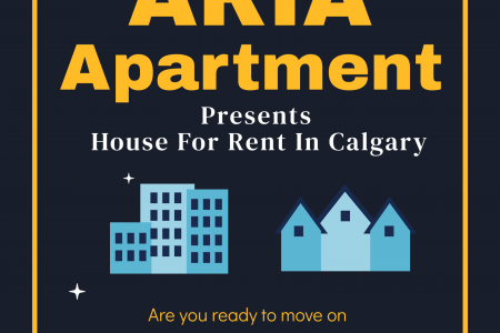 House For Rent In Calgary   ARIA Apartments Infographic