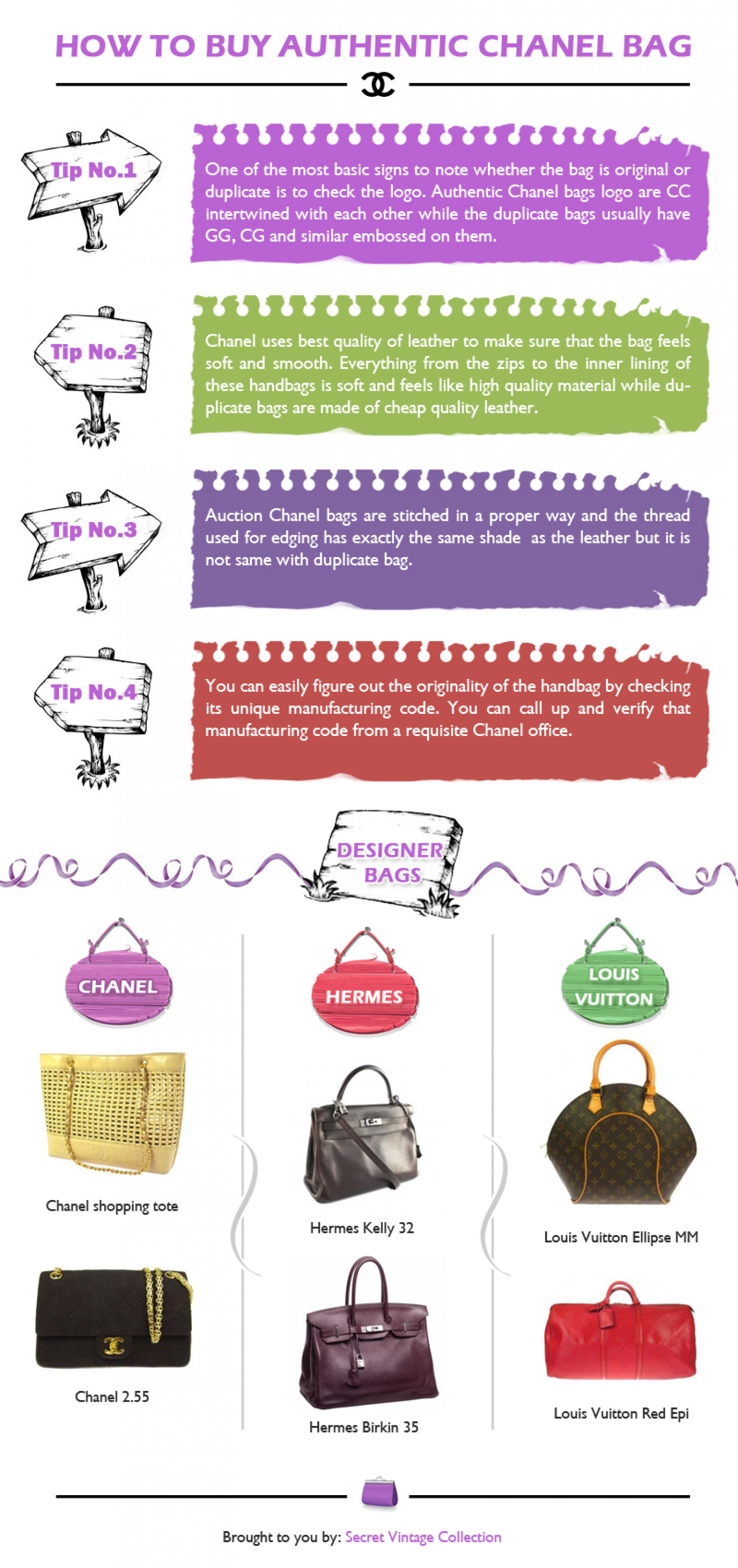 cheap authentic designer handbags 7hwo  How to buy authentic CHANEL BAG Infographic