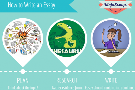 How  to Write an Essay Infographic