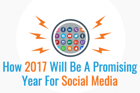 How 2017 Will Be A Promising Year For Social Media Infographic