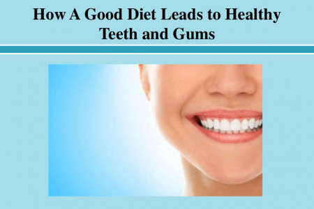 How A Good Diet Leads to Healthy Teeth and Gums Infographic