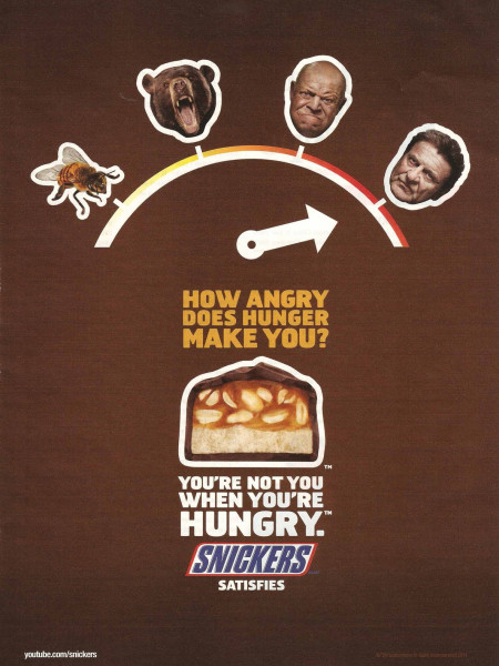 How Angry Does Hunger Make You? Infographic