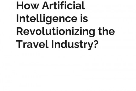 How Artificial Intelligence is Revolutionizing the Travel Industry? Infographic