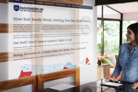 How Bail Bonds Work When you Have Outstanding Warrants Infographic