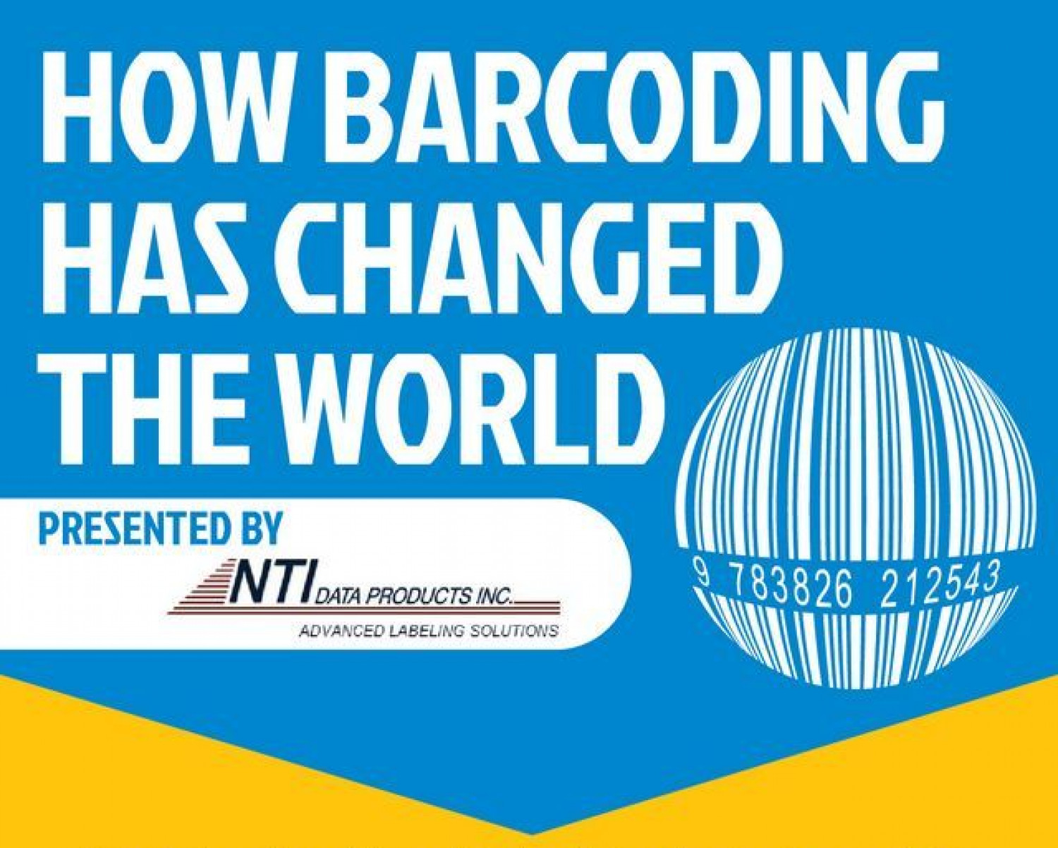 How Barcoding Has Changed the World Infographic