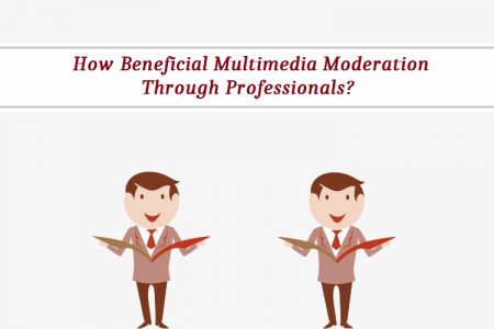 How Beneficial Multimedia Moderation Through Professionals?  Infographic