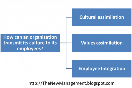 How can an organization transmit its culture to its employees? Infographic