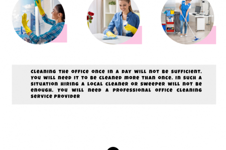 How Can Commercial Cleaning Benefit Your Business? Infographic