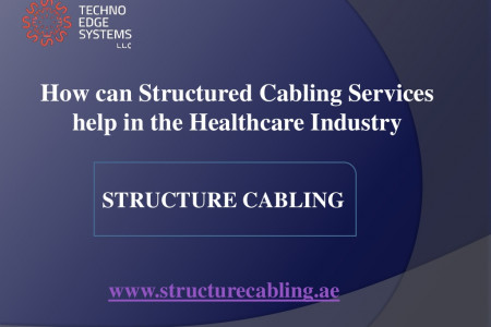 How can Structured Cabling Services help in the Healthcare Industry Infographic