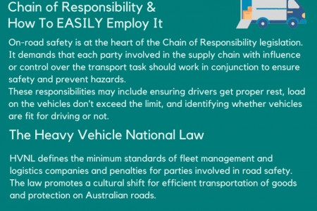 How Chain of Responsibility Affects Your Fleet Management? Infographic