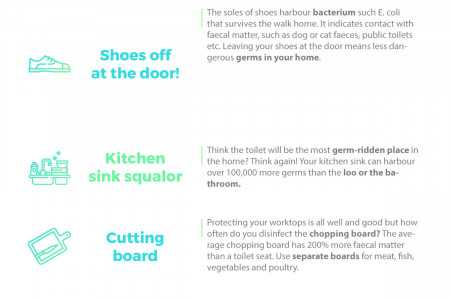 How Clean is Your House Infographic