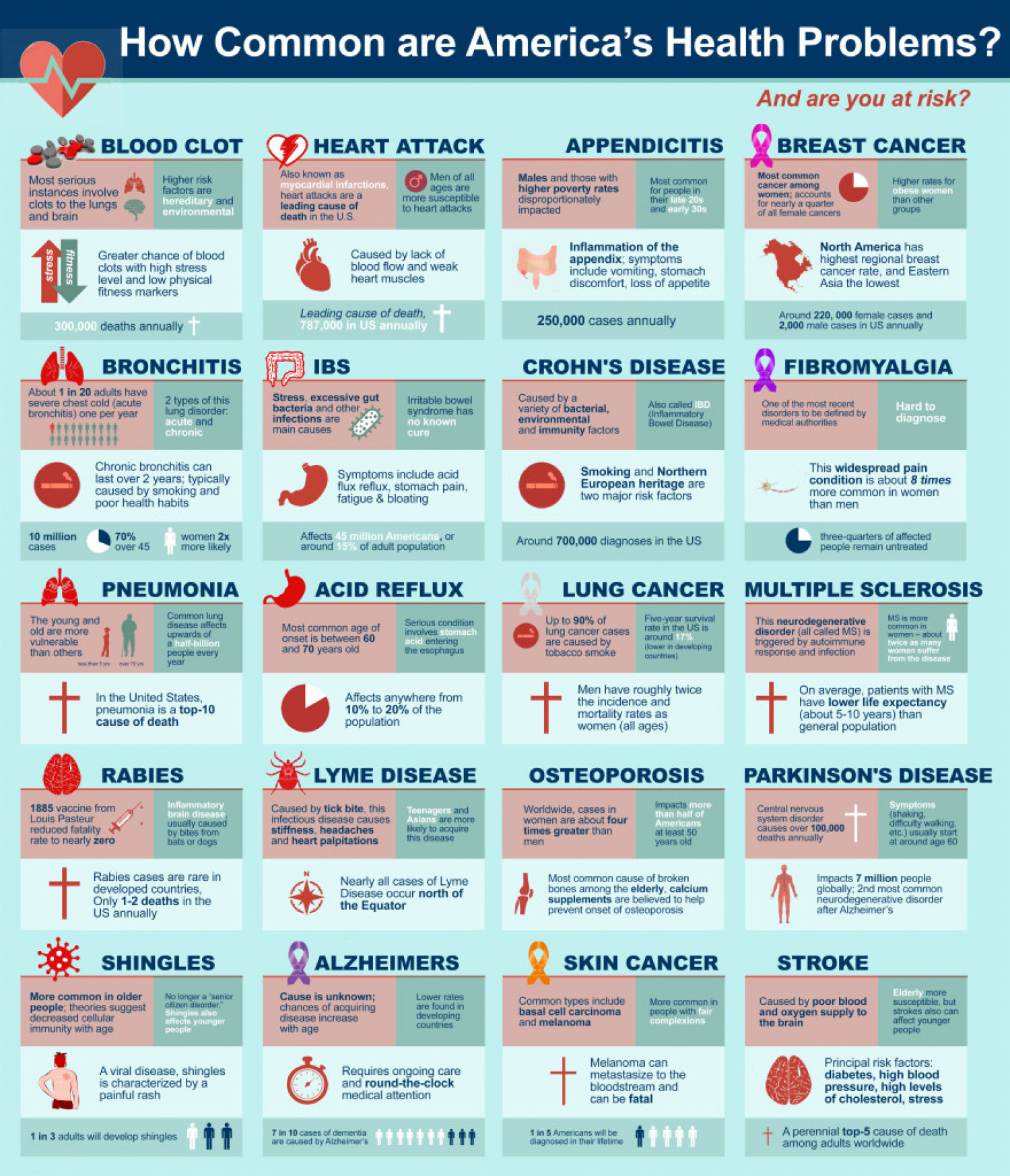americas interests in health issues Women's top 5 health concerns educating themselves on health issues yet african-americans have a greater chance of dying from this disease.