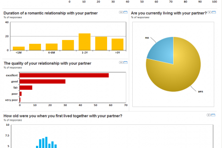 How Couples Meet And Stay Together Infographic