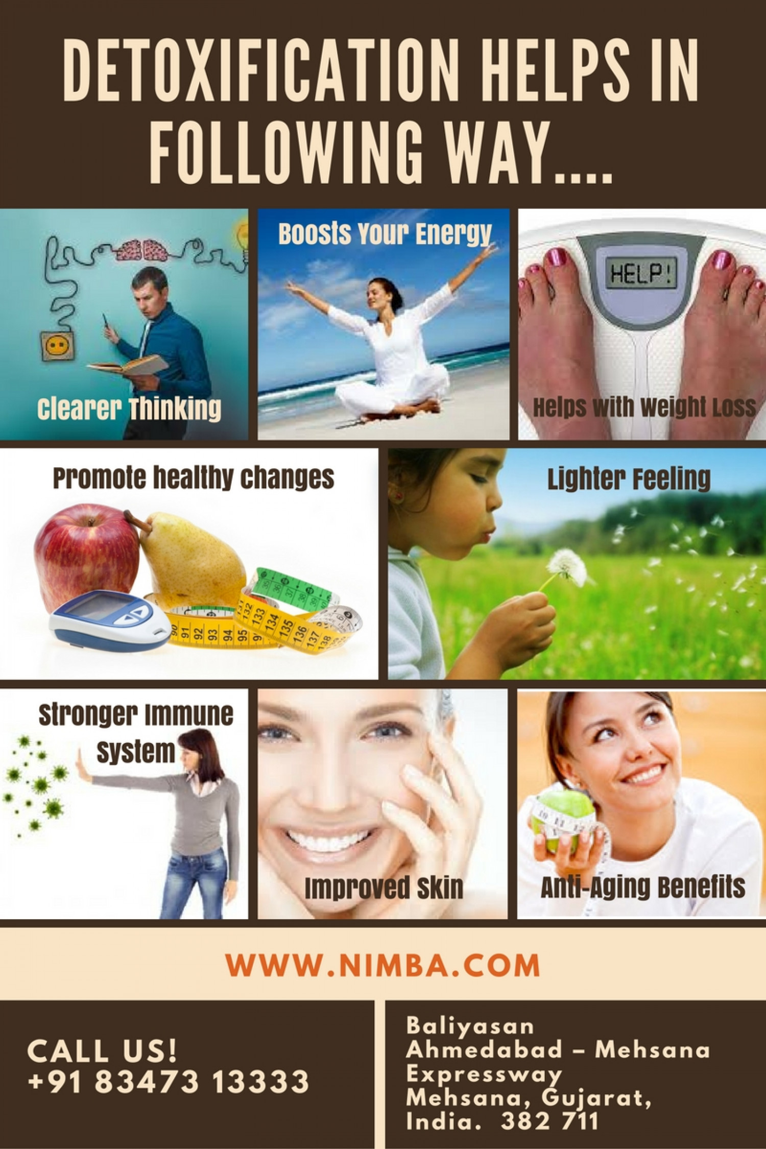 How Detoxification Help your Body? Infographic