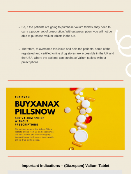 How (Diazepam) Valium Treat Your Insomnia & Anxiety Problems! Infographic