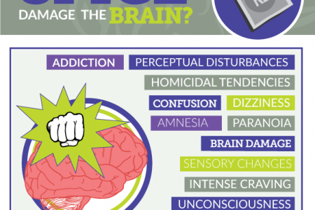 How Does Spice/K2 Damage the Brain? Infographic