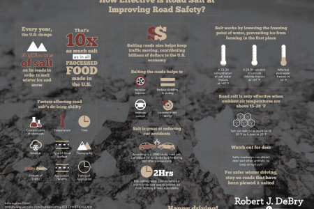 How Effective Is Road Salt at Improving Road Safety? Infographic