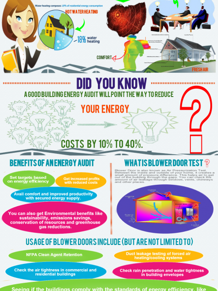 How Energy Auditors Make Homes More Efficient Infographic