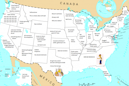 How Europeans See America Infographic