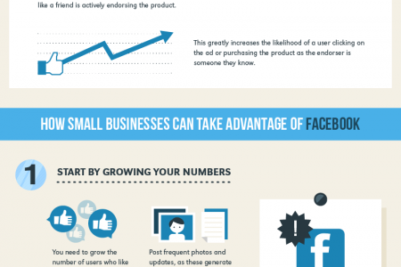 How Facebook Changed the Advertising World Infographic