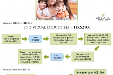 How Family Insurance Works Infographic