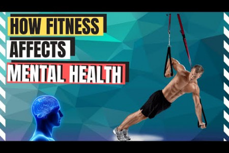 How Fitness Affects Mental Health Infographic