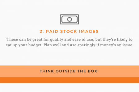 How freelancers find great images for their content projects Infographic