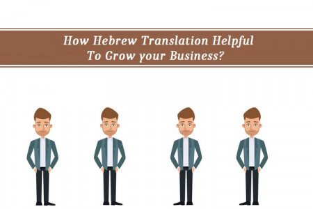 How Hebrew Translation Helpful to Grow your Business? Infographic