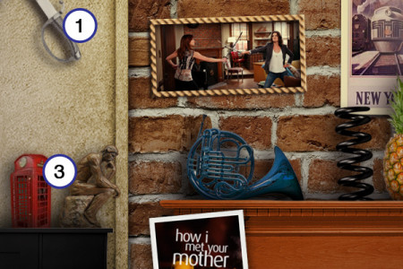 How I Met Your Mother: The Apartment Infographic