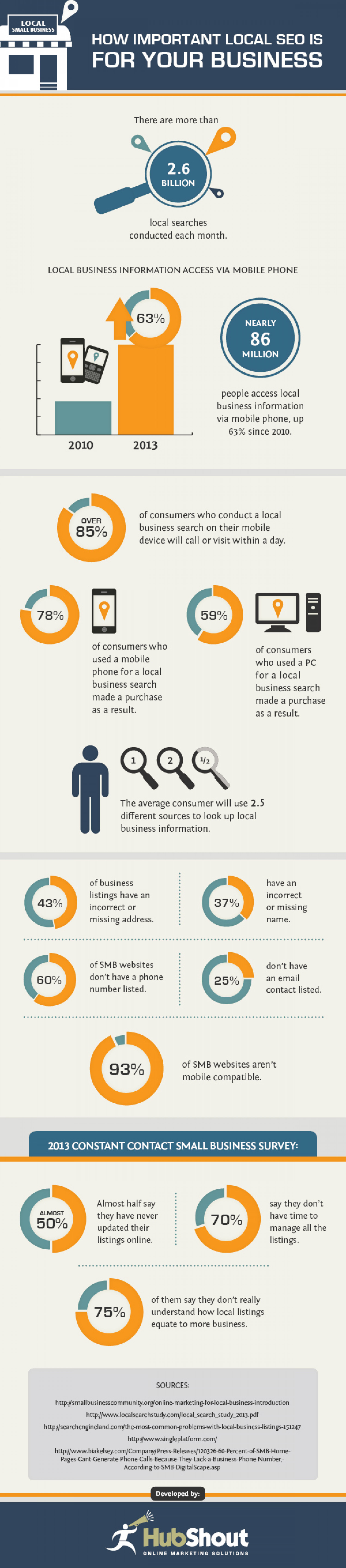 How Important Local SEO is for Your Business Infographic