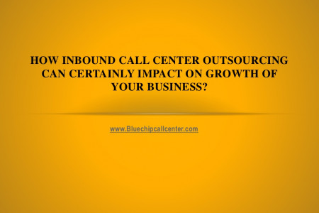 How inbound call center outsourcing can certainly impact on growth of your business Infographic