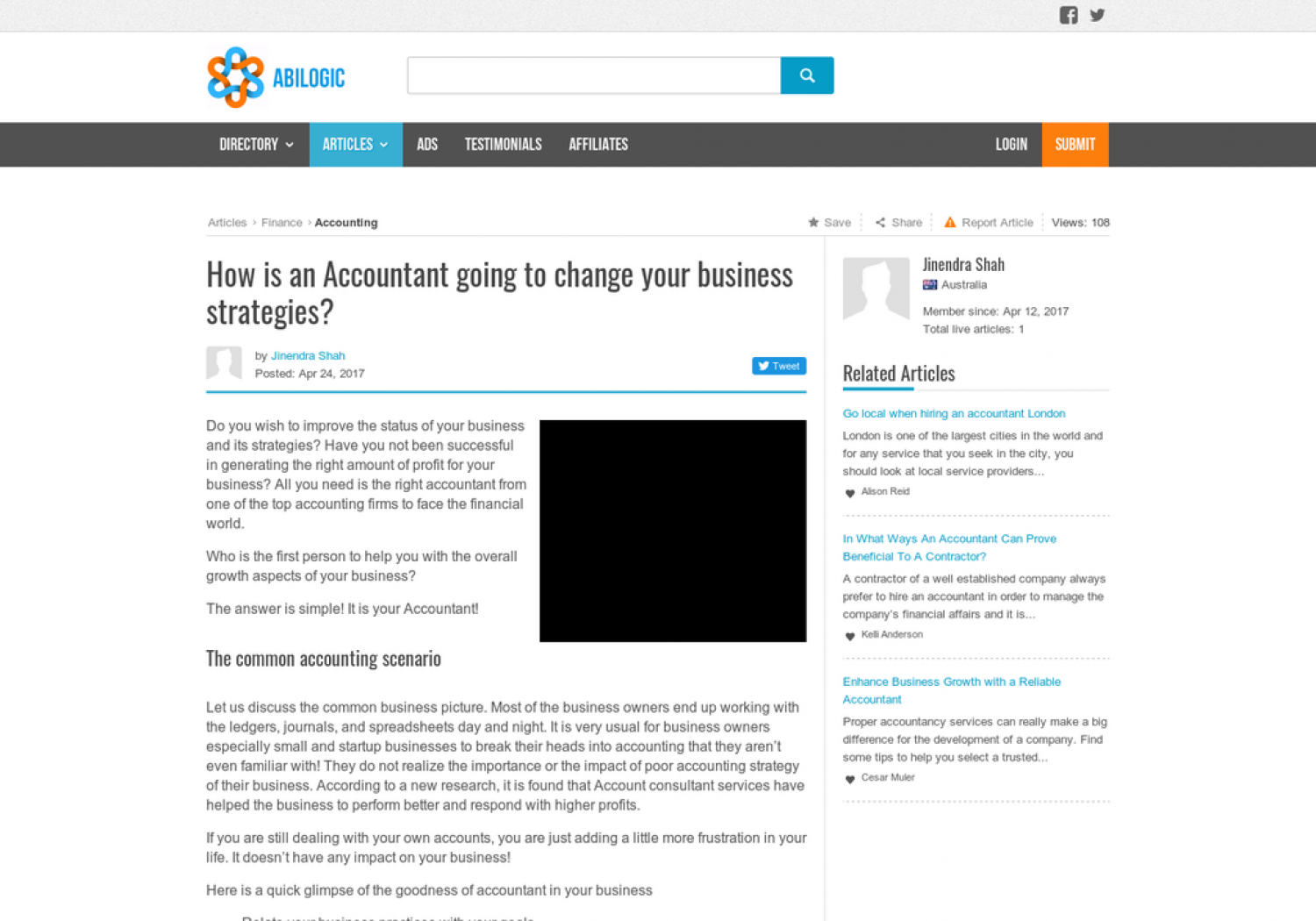 How is an Accountant going to change your business strategies? Infographic