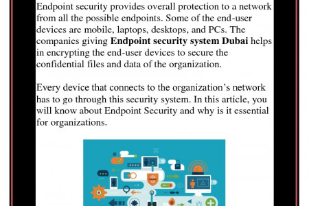 How is Endpoint Security Management is vital in Dubai Today? Infographic