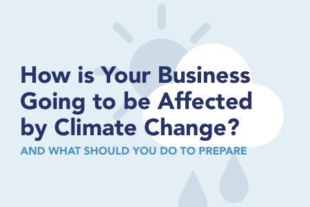 How is Your Business Going to be Affected by Climate Change & What Should You Do to Prepare? Infographic
