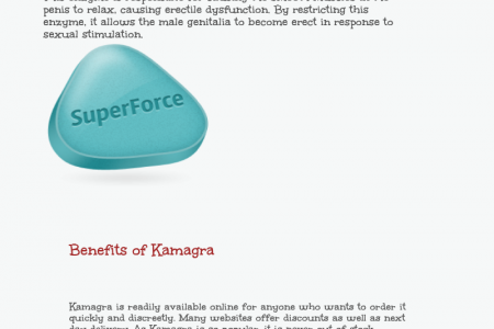How Kamagra Tablets are Beneficial to You Infographic